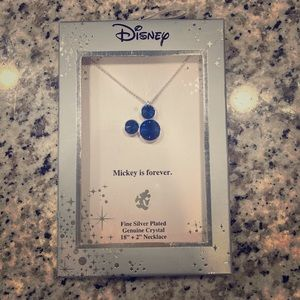 Disney Mickey head necklace